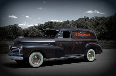Photograph - 1946 Chevrolet Sedan Delivery by Tim McCullough