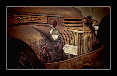 Photograph - 1946 Chevy Truck by Ron Roberts