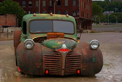 Photograph - 1946 Dodge Rat Rod Pickup by Tim McCullough