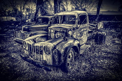 Photograph - 1946 Ford Pickups by Yo Pedro