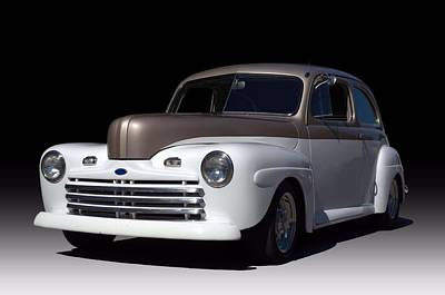 Photograph - 1946 Ford Sedan Street Rod by Tim McCullough