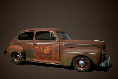 Photograph - 1946 Ford Sedan by Tim McCullough