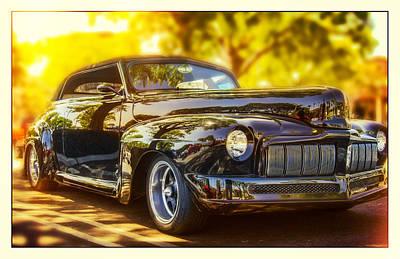 Oldzero Photograph - 1946 Mercury Convertible by Steve Benefiel