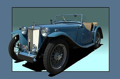 Photograph - 1946 Mg Tc Roadster by Tim McCullough