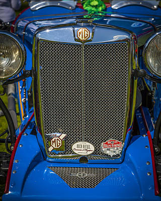Photograph - 1946 Mg Tc S-type Custom Roadster by Jack R Perry