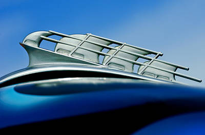 Photograph - 1946 Plymouth Hood Ornament by Jill Reger