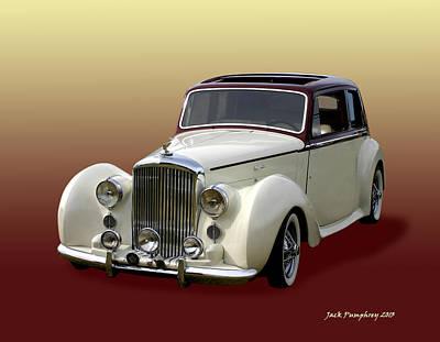 Photograph - 1947 Bentley M K  5   G T X  by Jack Pumphrey