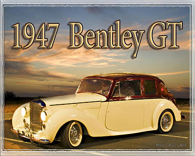 Photograph - 1947 Bentley by Walter Herrit