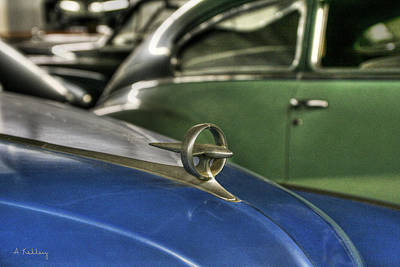 Photograph - 1947 Buick by Andrea Kelley