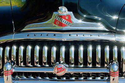 Buick Photograph - 1947 Buick Sedanette Grille by Jill Reger