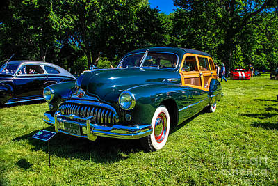 Photograph - 1947 Buick Super Estate by Grace Grogan