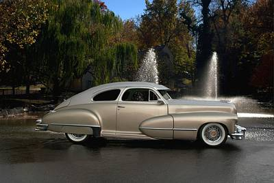 Photograph - 1947 Cadillac Coupe Rodtique by Tim McCullough