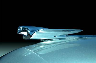 Photograph - 1947 Cadillac Hood Ornament by Tim McCullough