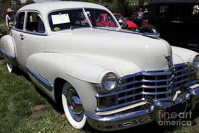 1947 Cadillac Series 62 Sedan 5d22821 Art Print by Wingsdomain Art and Photography