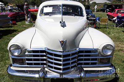 1947 Cadillac Series 62 Sedan 5d22824 Art Print by Wingsdomain Art and Photography
