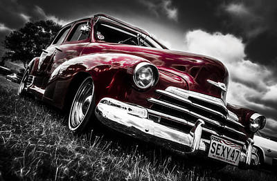 1947 Chevrolet Stylemaster Art Print by motography aka Phil Clark