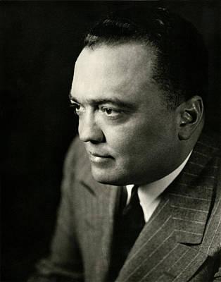 1947 Fbi Director J. Edgar Hoover Art Print by Historic Image