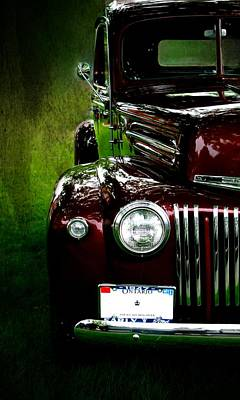 1947 Ford Art Print by Amanda Struz