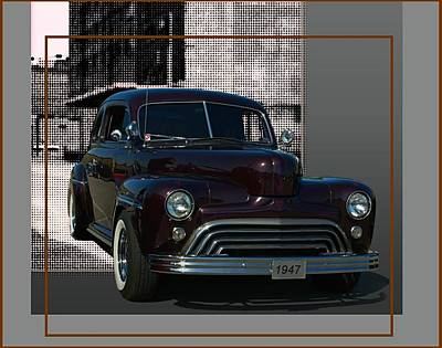 Photograph - 1947 Ford Custom With 47 Chevy Grill  by Tim McCullough