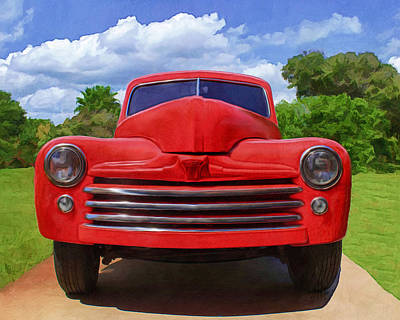 Digital Art - 1947 Ford by Deborah Boyd