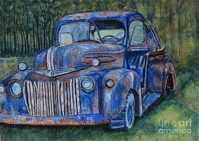 Painting - 1947 Ford Pickup by DJ Laughlin