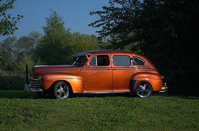 Photograph - 1947 Ford Sedan Street Rod by Tim McCullough