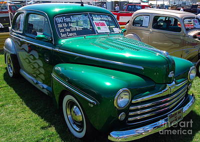 Photograph - 1947 Ford Super Deluxe by Mark Spearman