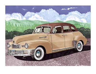 1947 Nash Statesman Art Print by Jack Pumphrey