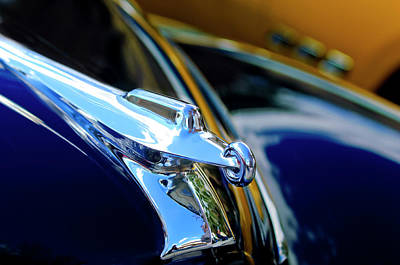 Hoodies Photograph - 1947 Packard Hood Ornament 4 by Jill Reger