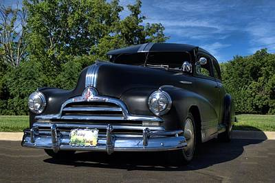 Photograph - 1947 Pontiac Sedan by Tim McCullough