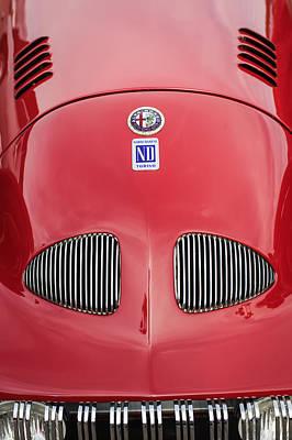 Photograph - 1948 Alfa Romeo Nardi Danese Convertible by Jill Reger