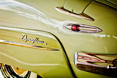 Photograph - 1948 Buick Roadmaster Dynaflow Emblem by Jill Reger