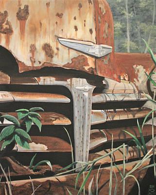 Painting - 1948 Chevrolet  by Branden Hochstetler