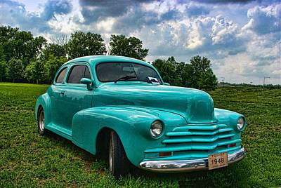 Photograph - 1948 Chevrolet Coupe by Tim McCullough