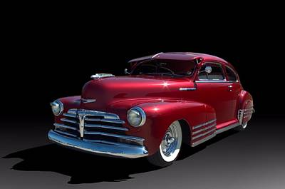 Photograph - 1948 Chevrolet Fleetline Custom by Tim McCullough
