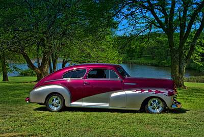 Photograph - 1948 Chevrolet Fleetline Sedan by Tim McCullough