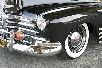 Photograph - 1948 Chevrolet Fleetmaster Antique Classic by David Zanzinger