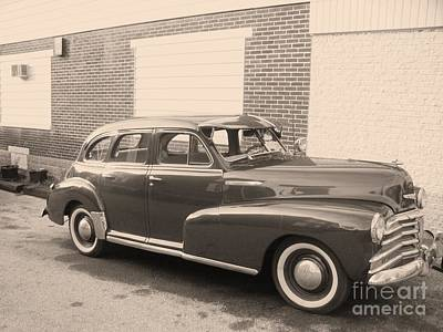 Transportion Photograph - 1948 Chevy by Eric  Schiabor