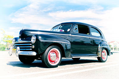 Photograph - 1948 Ford 2 Door Sedan by Mark Miller
