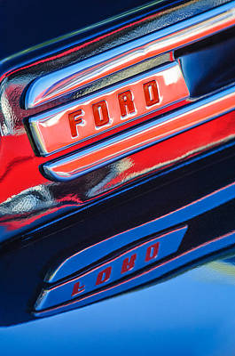 1948 Ford F-1 Pickup Truck Art Print