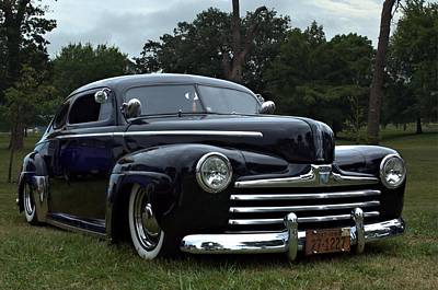 Photograph - 1948 Ford Sedan Low Rider by Tim McCullough