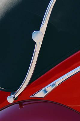 Photograph - 1948 Jaguar 2.5 Litre Drophead Coupe by Jill Reger