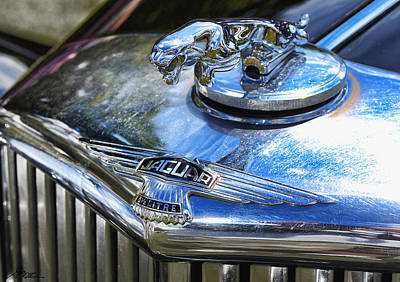 Photograph - 1948 Jaguar Mark Iv Saloon by Gordon Dean II