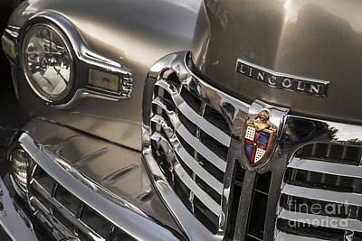 Antique Automobiles Photograph - 1948 Lincoln by Dennis Hedberg