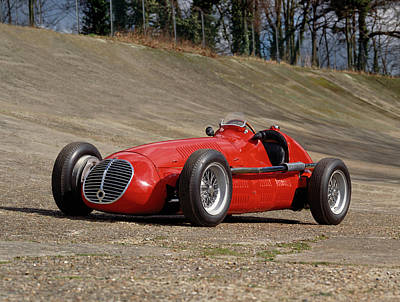Historic Car Photograph - 1948 Maserati 4clt48 Gp Single Seater by Panoramic Images