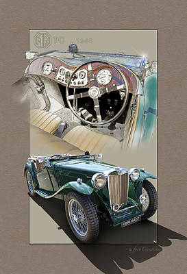 1948 Mg Tc Art Print