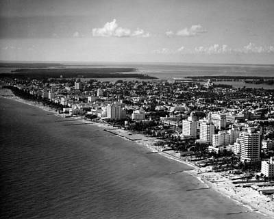 1948 Miami Beach Florida Art Print by Retro Images Archive