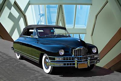 Anchor Down - 1948 Packard Custom 8 Convertible by Dave Koontz