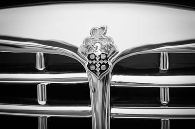 Photograph - 1948 Packard Eight Vignale Convertible Victoria - 2134bw by Jill Reger