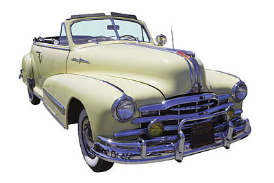 Photograph - 1948 Pontiac Silver Streak Convertible by Keith Webber Jr